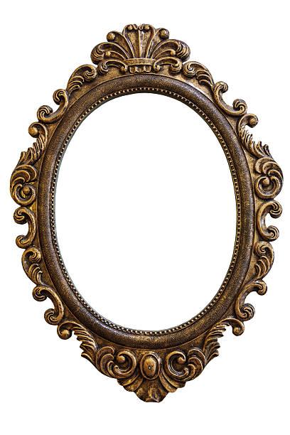 vintage frame - alte spiegel stock-fotos und bilder