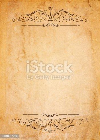 istock vintage frame 658407786