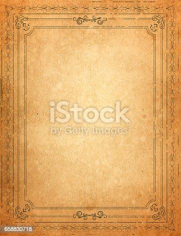 istock vintage frame 658830718