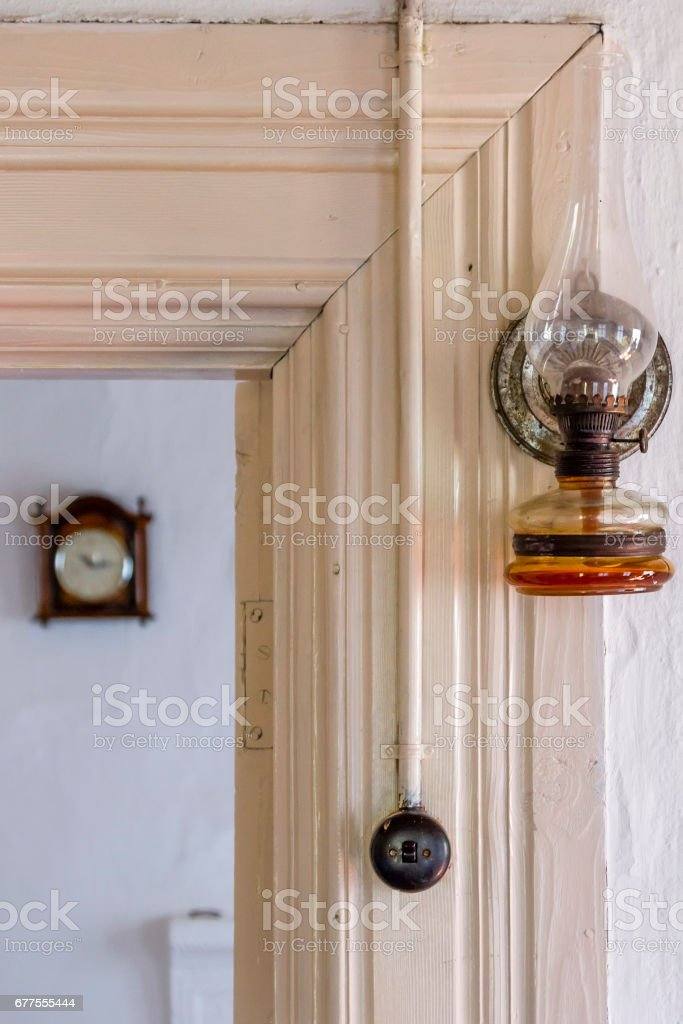 Vintage gas bulb royalty-free stock photo