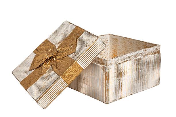 Vintage Gift Box stock photo