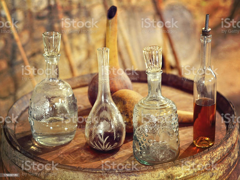 Vintage Glass utensil royalty-free stock photo