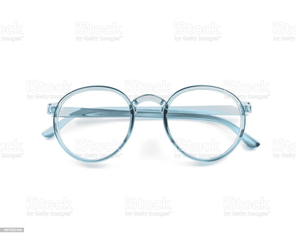 vintage glasses isolated on white – Foto