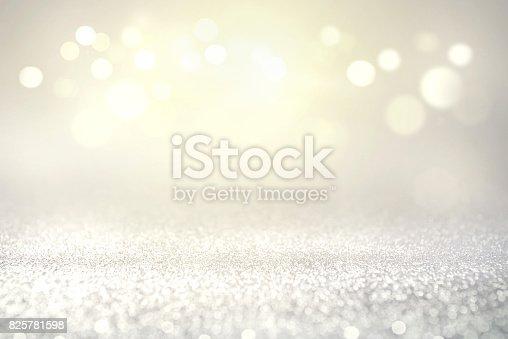 istock Vintage glitter lights bokeh background. 825781598