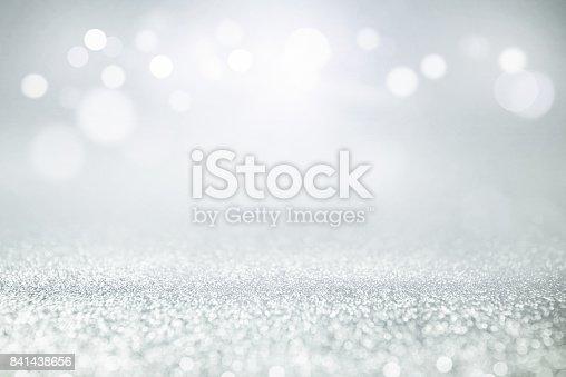 istock Vintage glitter lights bokeh background. 841438656
