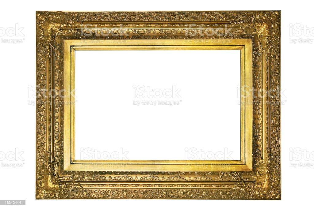 Vintage Gold Frame royalty-free stock photo