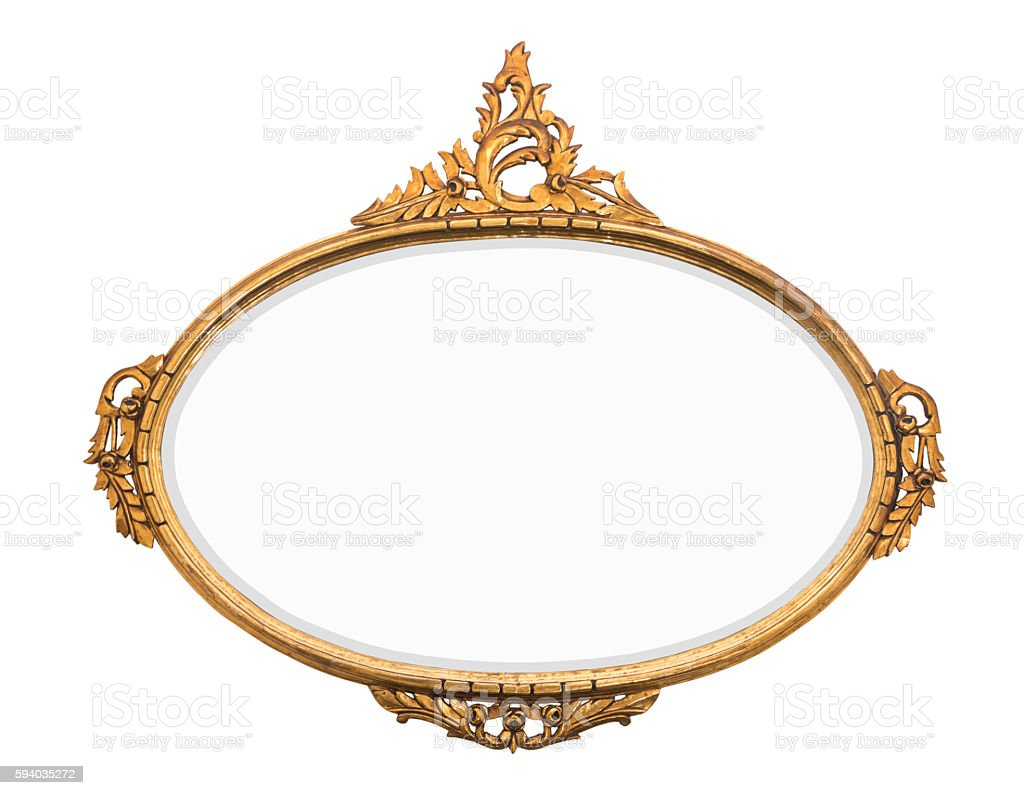 Vintage Gold Mirror Stock Photo & More Pictures of Ancient | iStock