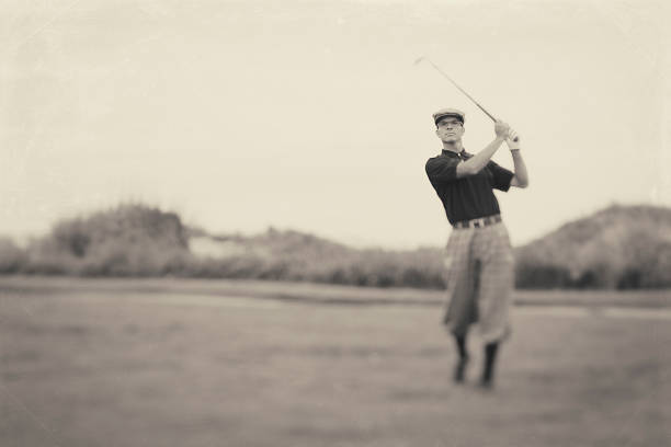 ヴィンテージのゴルフ - ゴルフの写真 ストックフォトと画像