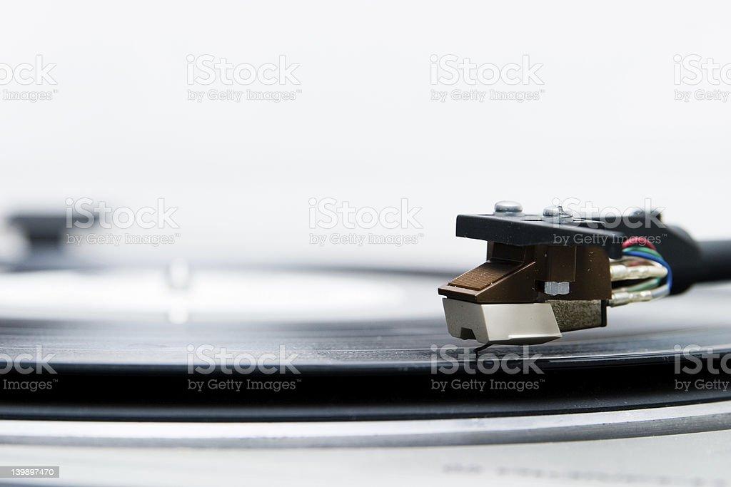 Vintage gramophone royalty-free stock photo