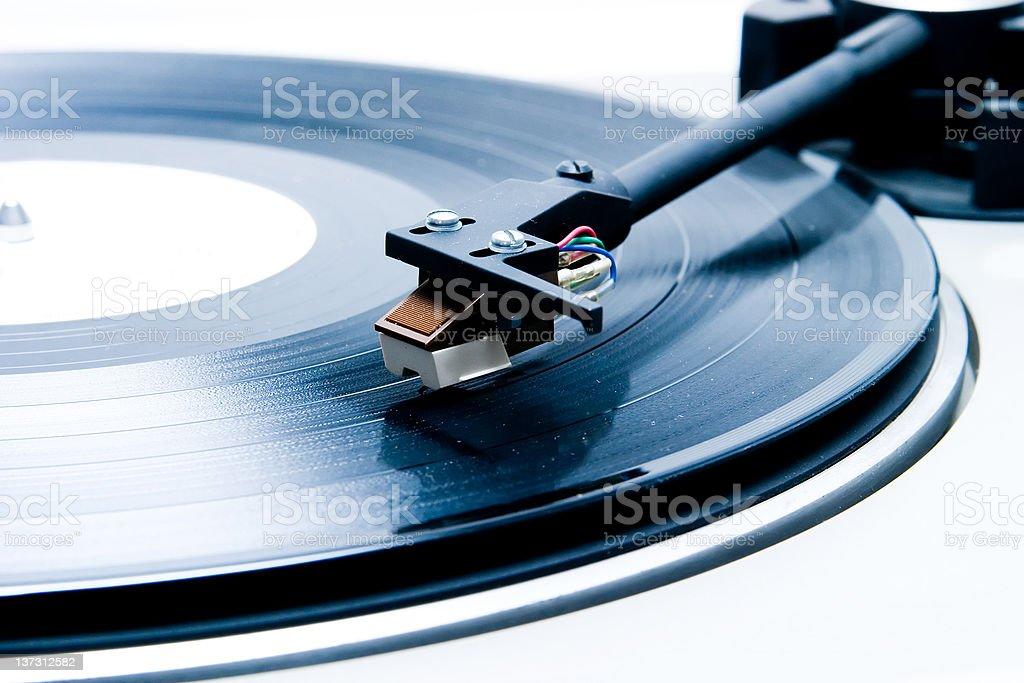 Vintage Grammofon, Plattenspieler – Foto