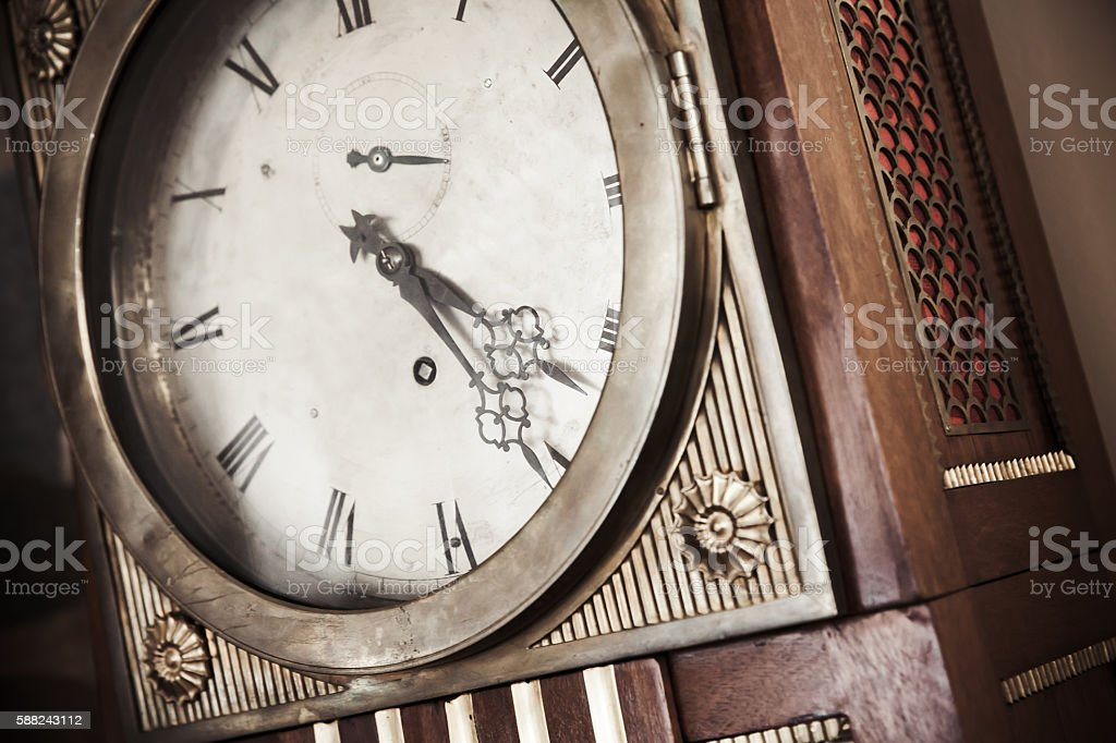 Vintage grandfather clock – Foto