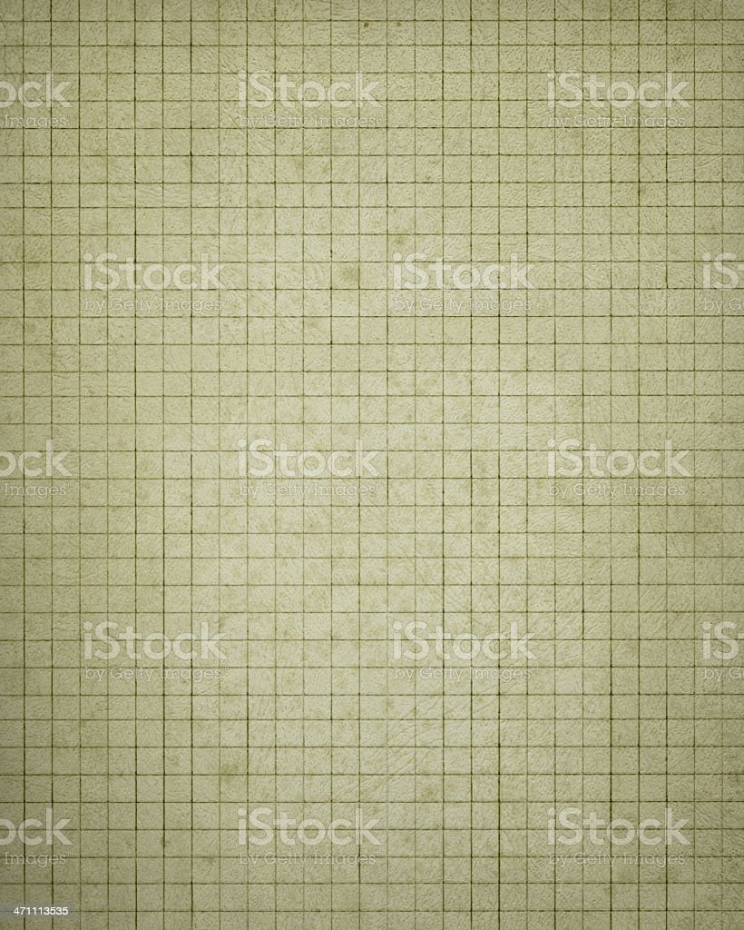 vintage graph paper royalty-free stock photo