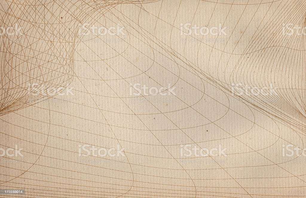 Vintage Grid Paper royalty-free stock photo