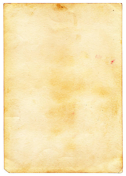Vintage Grunge Card with Water Marks stock photo