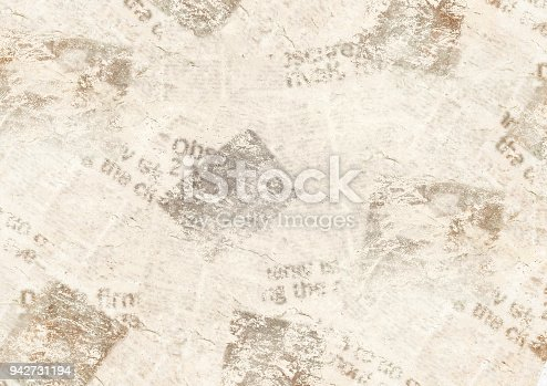 1134202009istockphoto Vintage grunge newspaper collage background 942731194