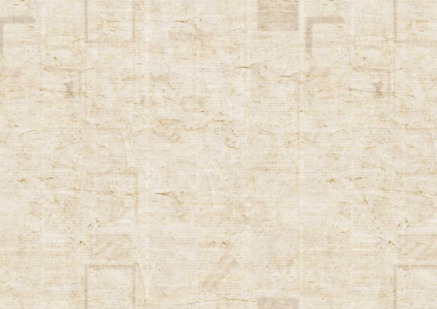 vintage grunge newspaper texture background - typescript stock pictures, royalty-free photos & images