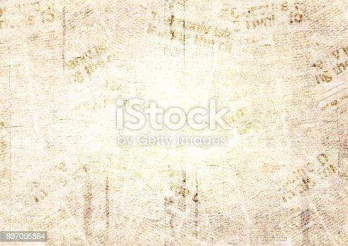 928623156 istock photo Vintage grunge newspaper texture background 937005864