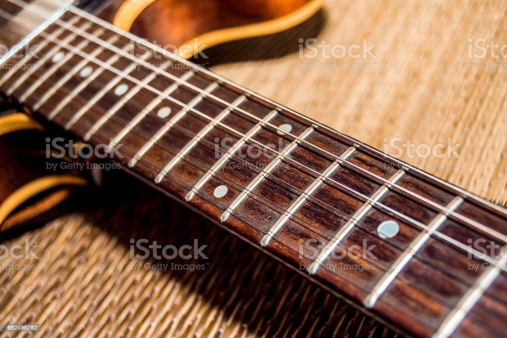 Vintage guitar Стоковые фото Стоковая фотография