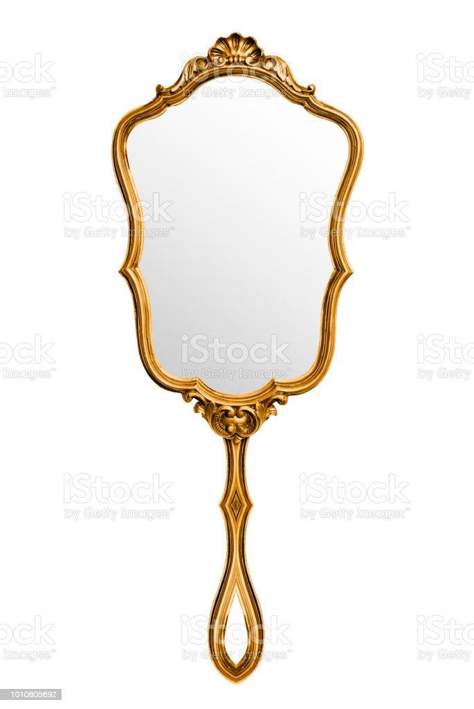 Vintage hand mirror – Foto