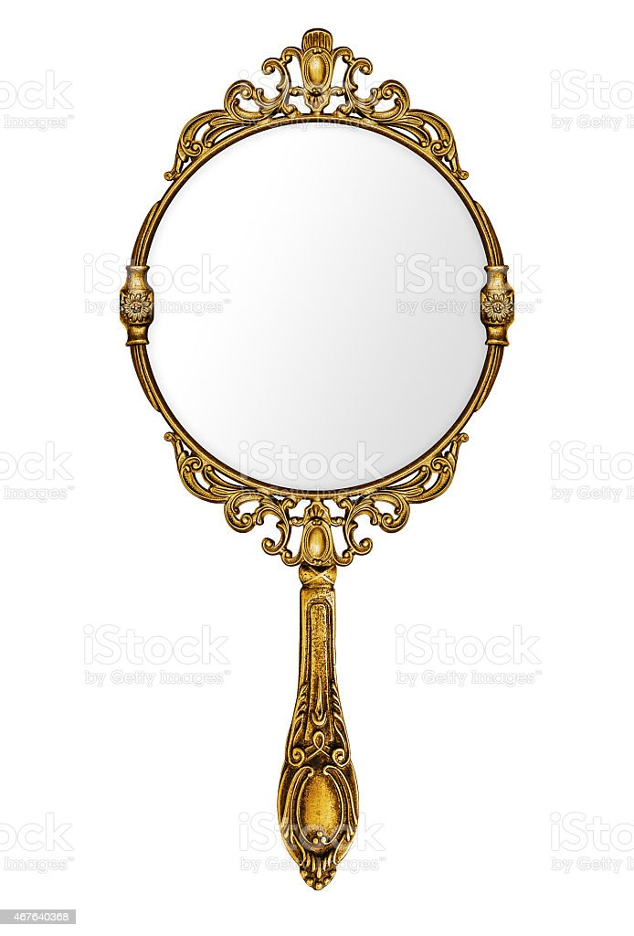 Vintage Hand Mirror Stock Photo & More Pictures of 2015 ... Vintage Hand Mirror Clipart