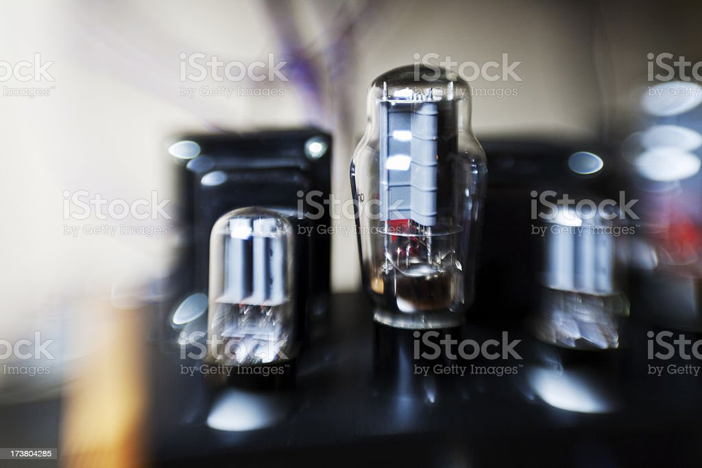Vintage HiFi royalty-free stock photo