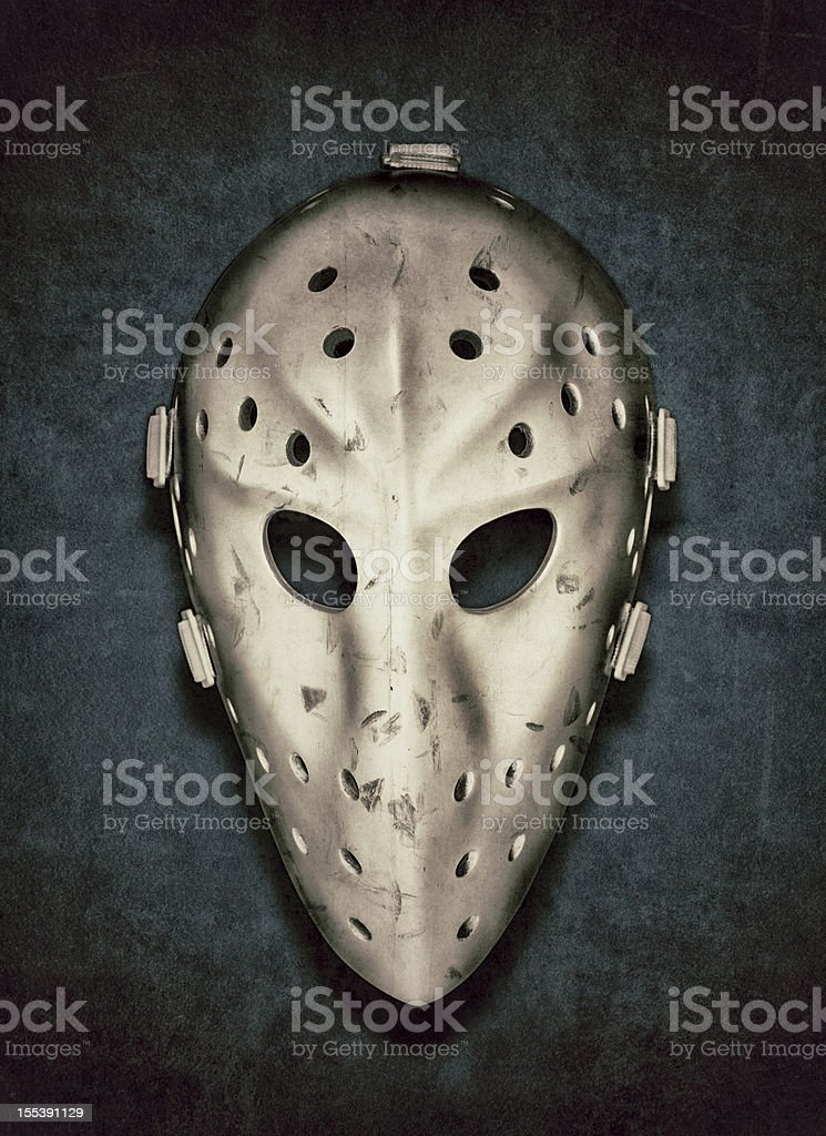 Vintage Hockey Goalie Mask Stock Photo More Pictures Of Color