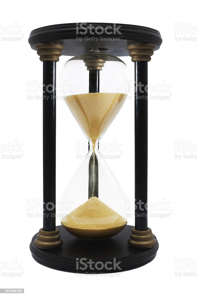 Vintage Hourglass royalty-free stock photo