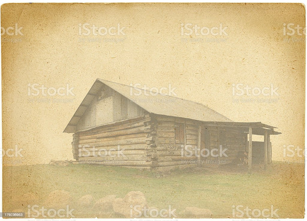 Vintage Hut royalty-free stock photo