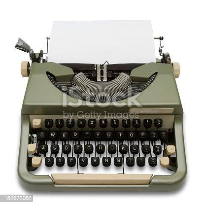 istock Vintage Imperial Typewriter 182672052