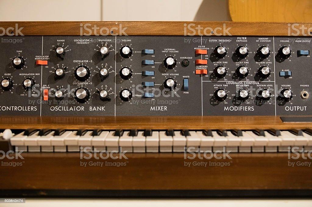 Vintage Instrument Mixer stock photo