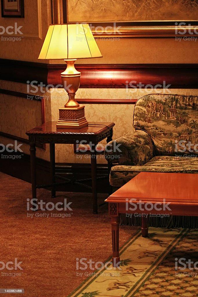 vintage interior design stock photo