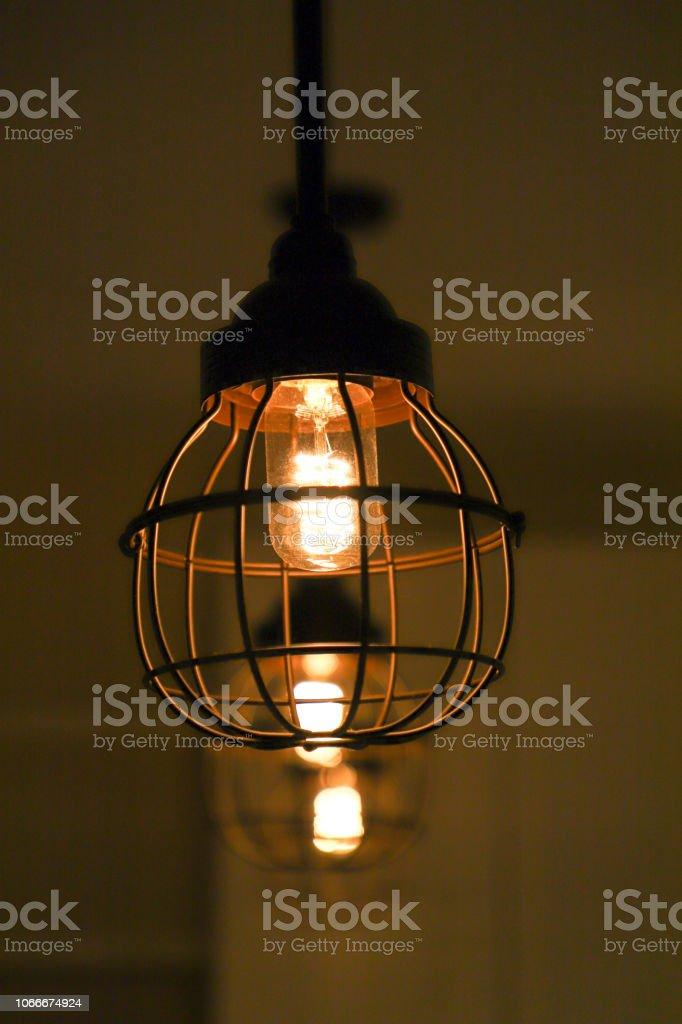Vintage interior lighting lamp for home decor.