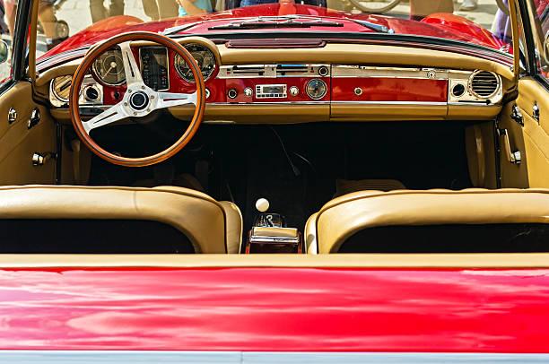 vintage italienisches auto - oldtimer veranstaltungen stock-fotos und bilder