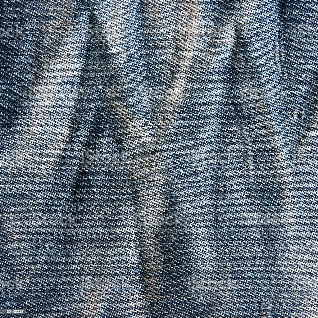 Vintage jeans texture. stock photo