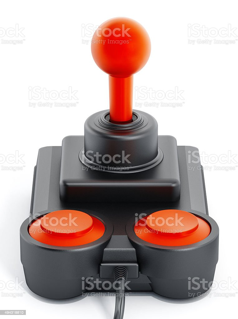 Jahrgang-joystick – Foto