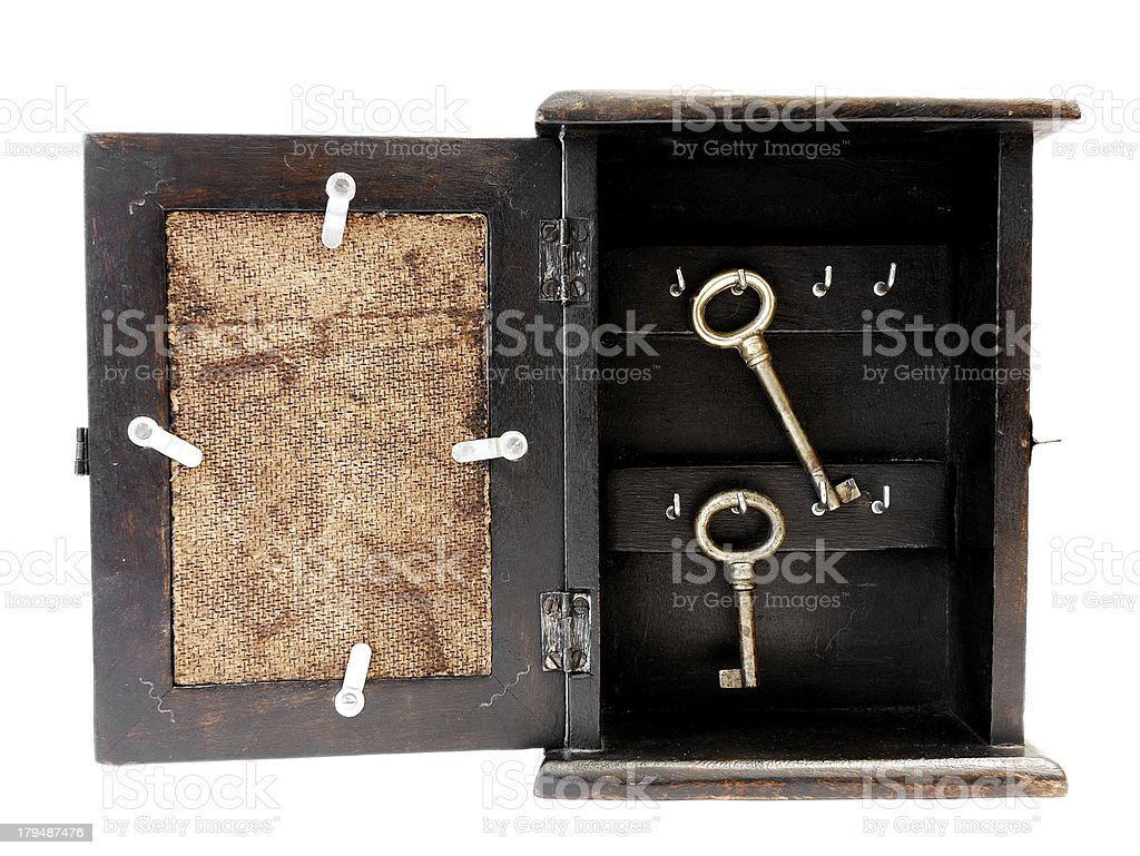 Vintage Keys Cabinet royalty-free stock photo - Vintage Keys Cabinet Stock Photo & More Pictures Of Antique IStock