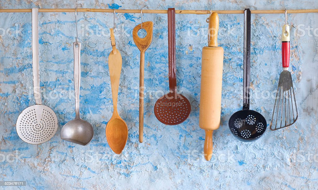 vintage Küchengeräte Lizenzfreies stock-foto