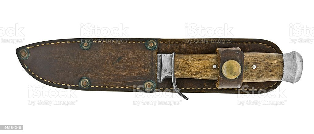 vintage knife royalty-free stock photo
