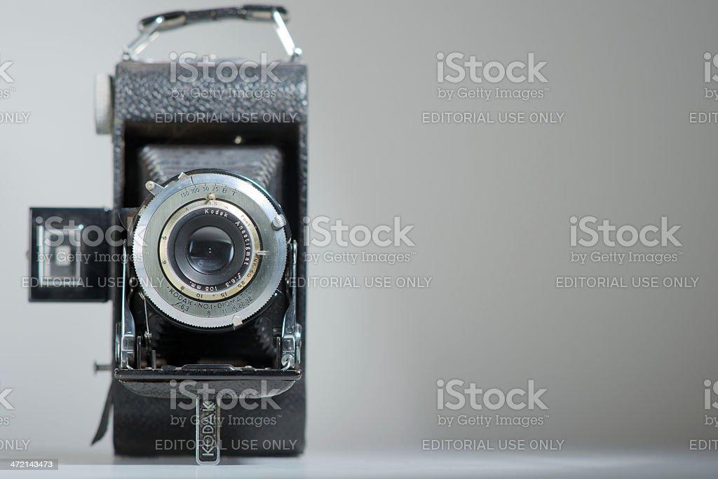 Vintage Kodak Bellow Camera royalty-free stock photo
