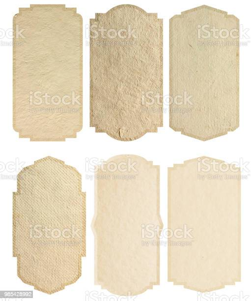 Vintage label design paper texture background isolated on white picture id985428992?b=1&k=6&m=985428992&s=612x612&h=0erbjfpkshkzw bdbc5c1heocnymgdve1qkbnqqdgiw=