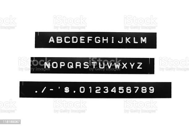 Vintage label maker font picture id118189067?b=1&k=6&m=118189067&s=612x612&h=qroyrhywrbkt6xizqjzcfjbfo0jojpka2cdmerwm8fo=