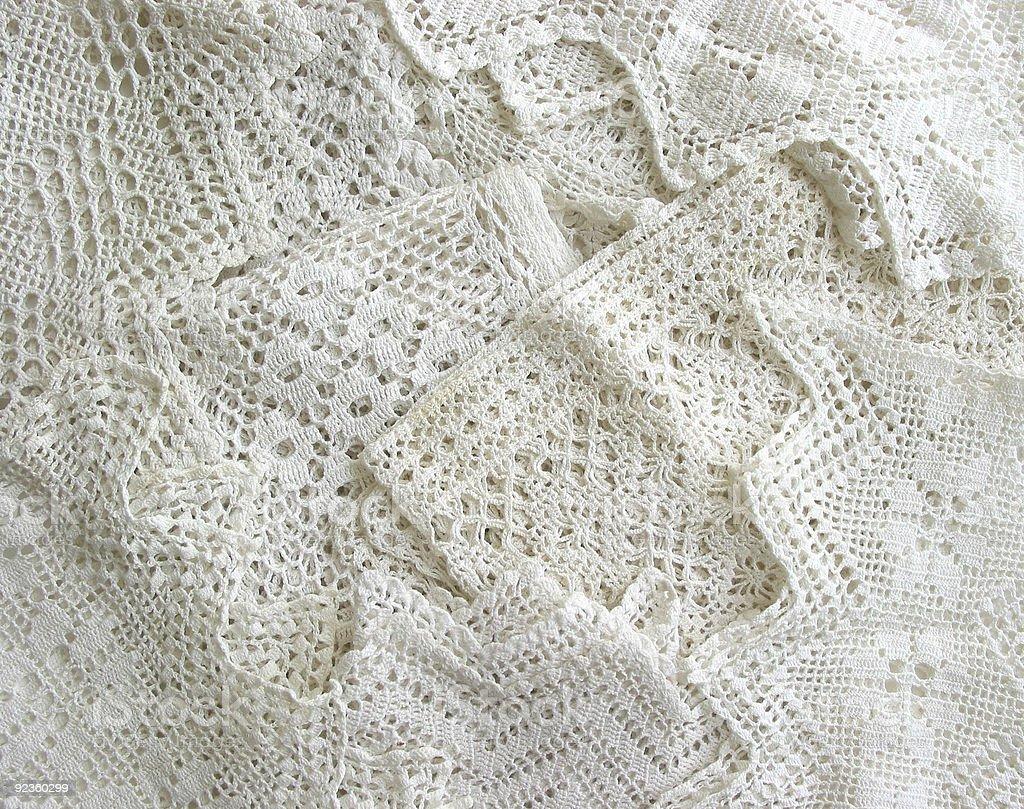 Vintage lace background royalty-free stock photo