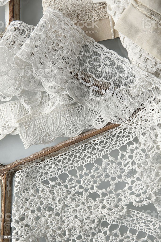 vintage lace royalty-free stock photo