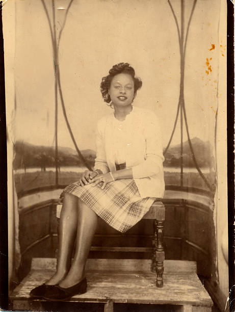 vintage lady - old fashioned stock pictures, royalty-free photos & images