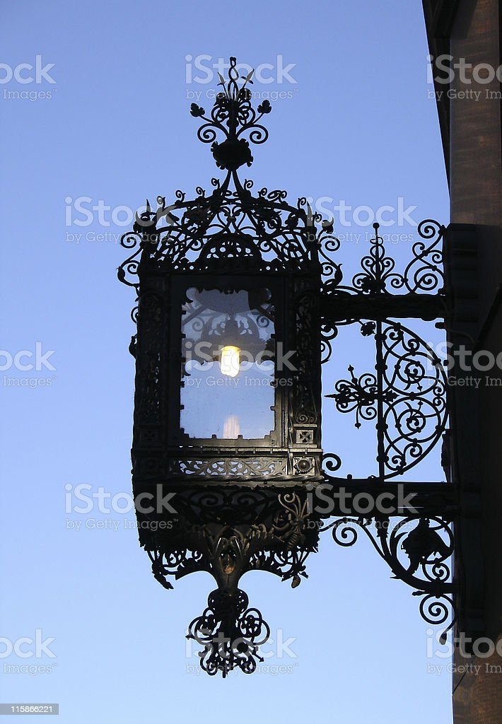 Vintage lantern royalty-free stock photo