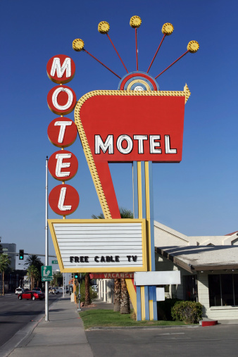 Very cool vintage Motel from the 50's – 60's.