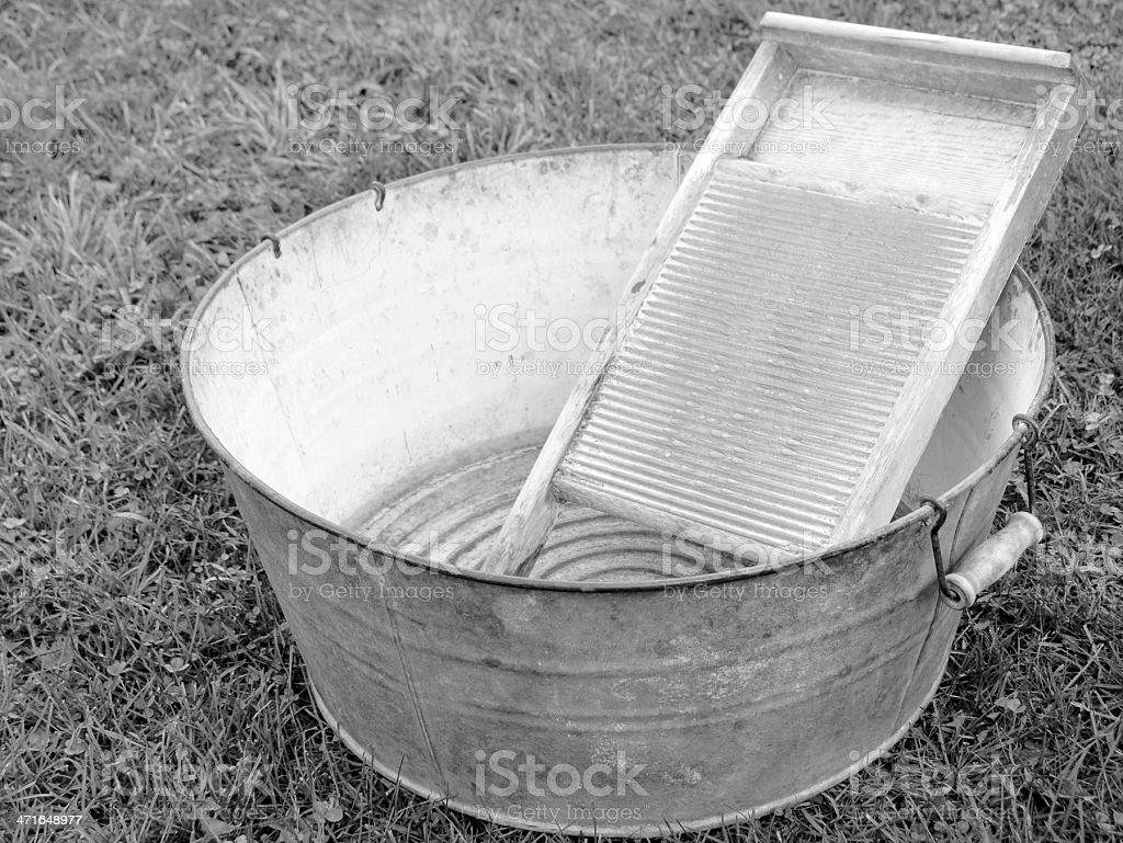 vintage laundry royalty-free stock photo
