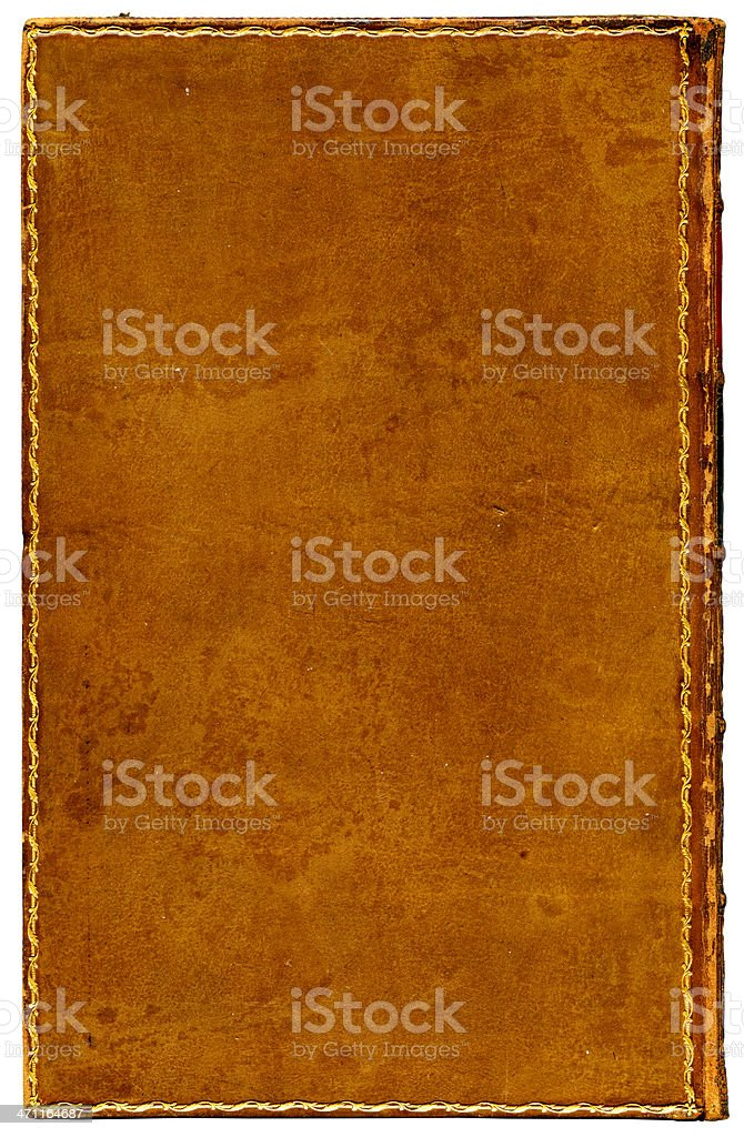 Vintage leather background XXXL royalty-free stock photo
