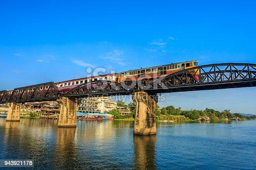 Kanchanaburi Province, Kwai River, Asia, Built Structure, Famous Place