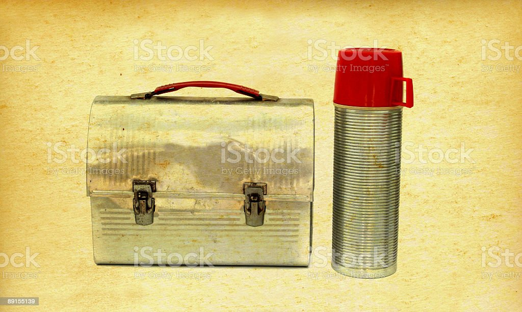Vintage Luch Box royalty-free stock photo